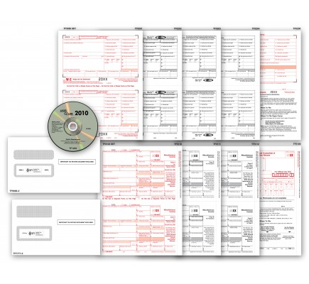 1099 Tax Forms Laser Link Software Kit