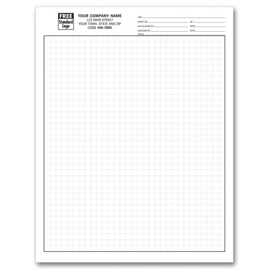 1/4 Inch Engineering Graph Pads
