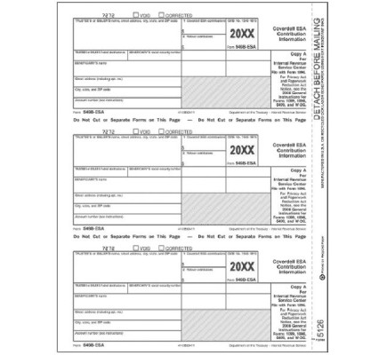 2017 Laser 5498 ESA, Federal Copy A