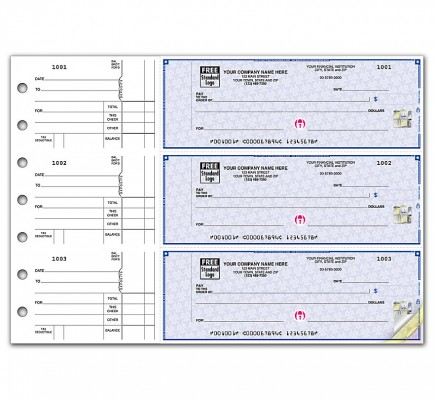3 On A Page Counter Signature Checks