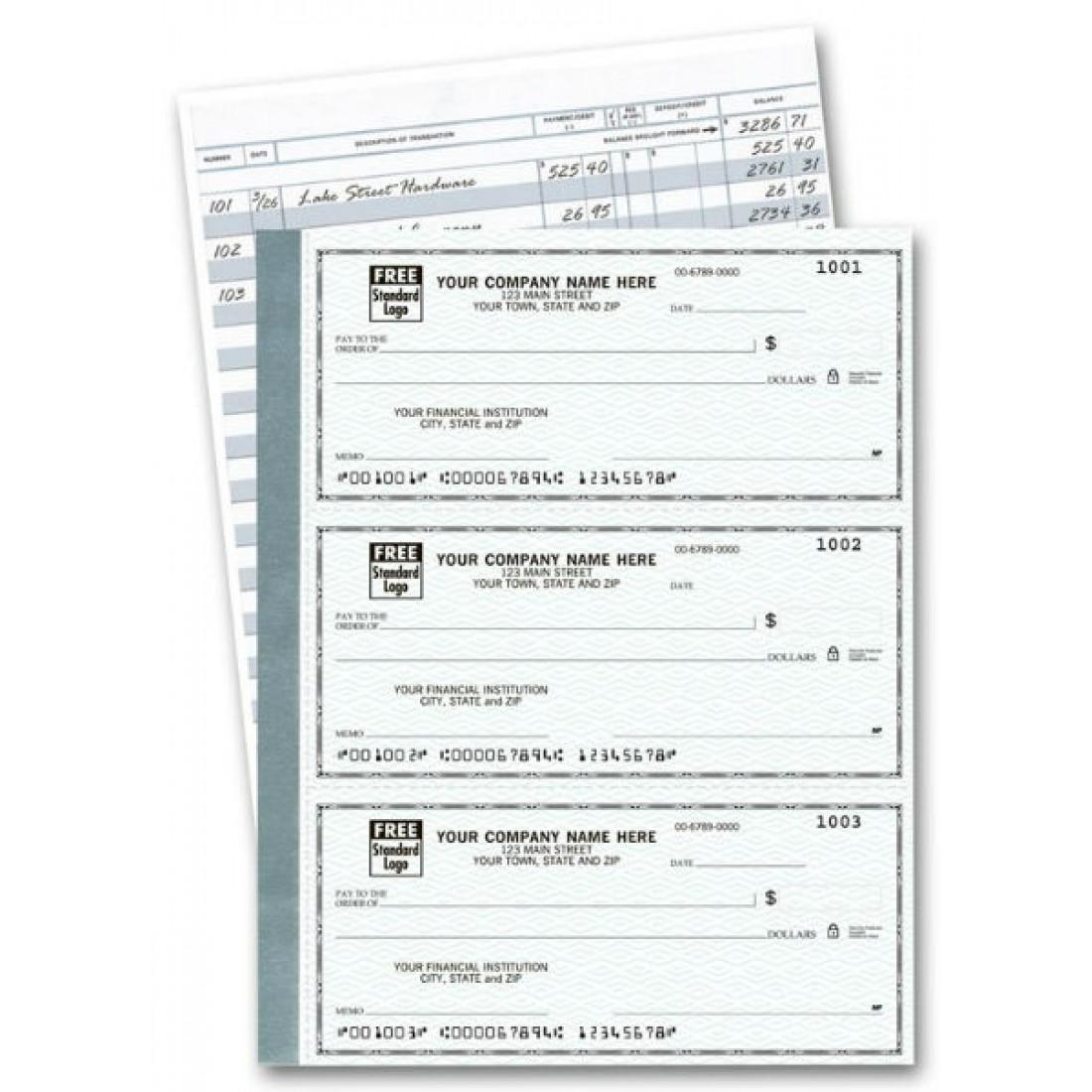 3-Per-Page Personal Checks Business - Secretary