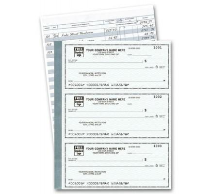 3-Per-Page Personal Checks Business - Secretary 3-Per-Page Personal Checks Business - Custom Business Checks With Logo