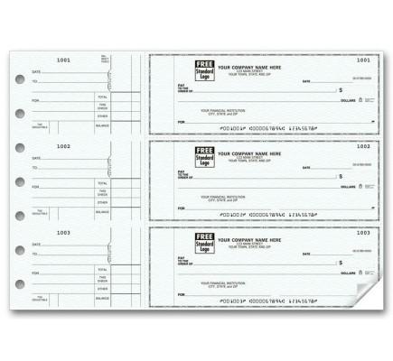 3-To-A-Page Checks - Counter Signature (53221N) - 3-To-A-Page Checks  - Business Checks