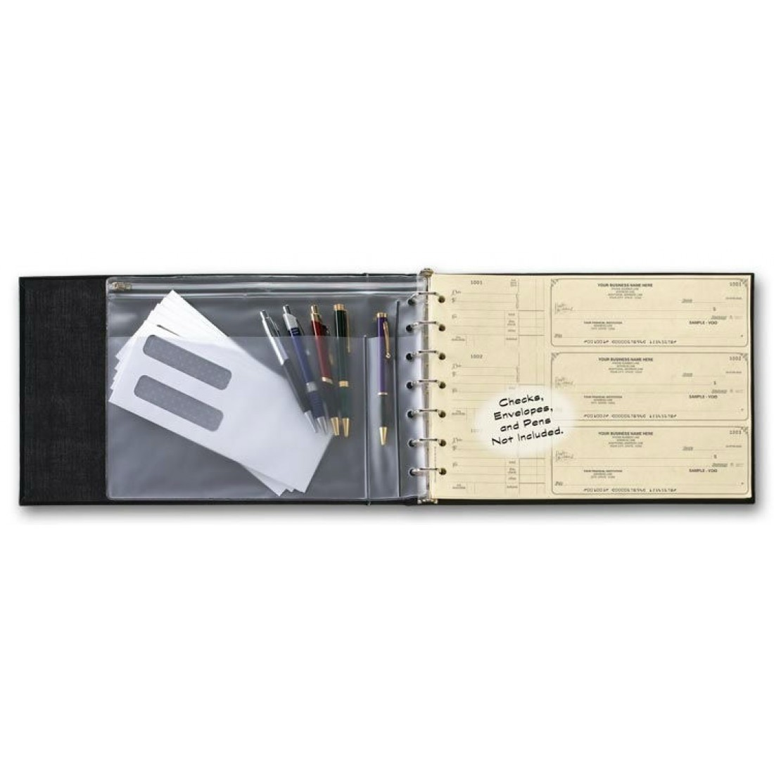 7 Ring Business Check Binder