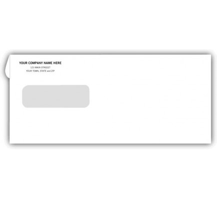 8-Single-Window-Printable-Envelopes-9301 Letter Template With Fold Marks For Envelopes A Window on
