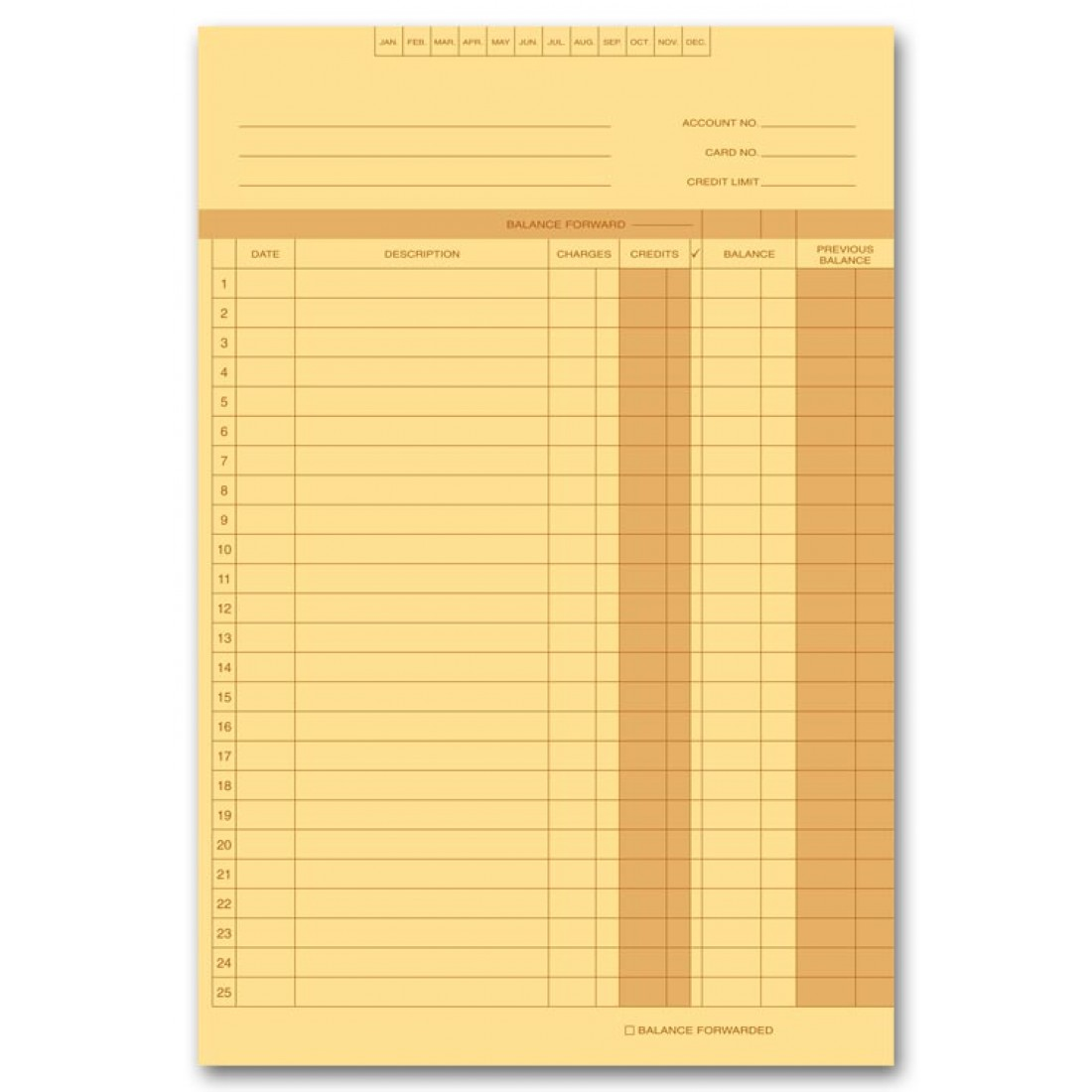 Accounts Receivable Ledgers