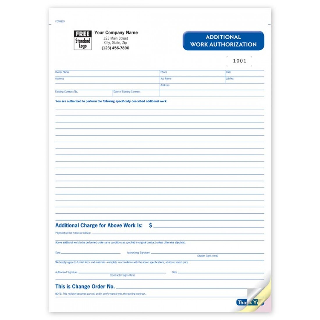 Additional Work Authorization Forms