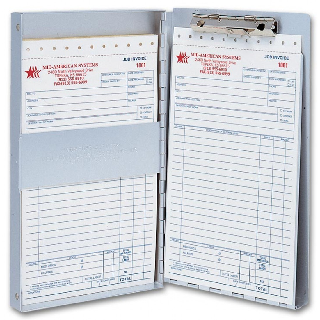 Aluminum Business Forms Holder