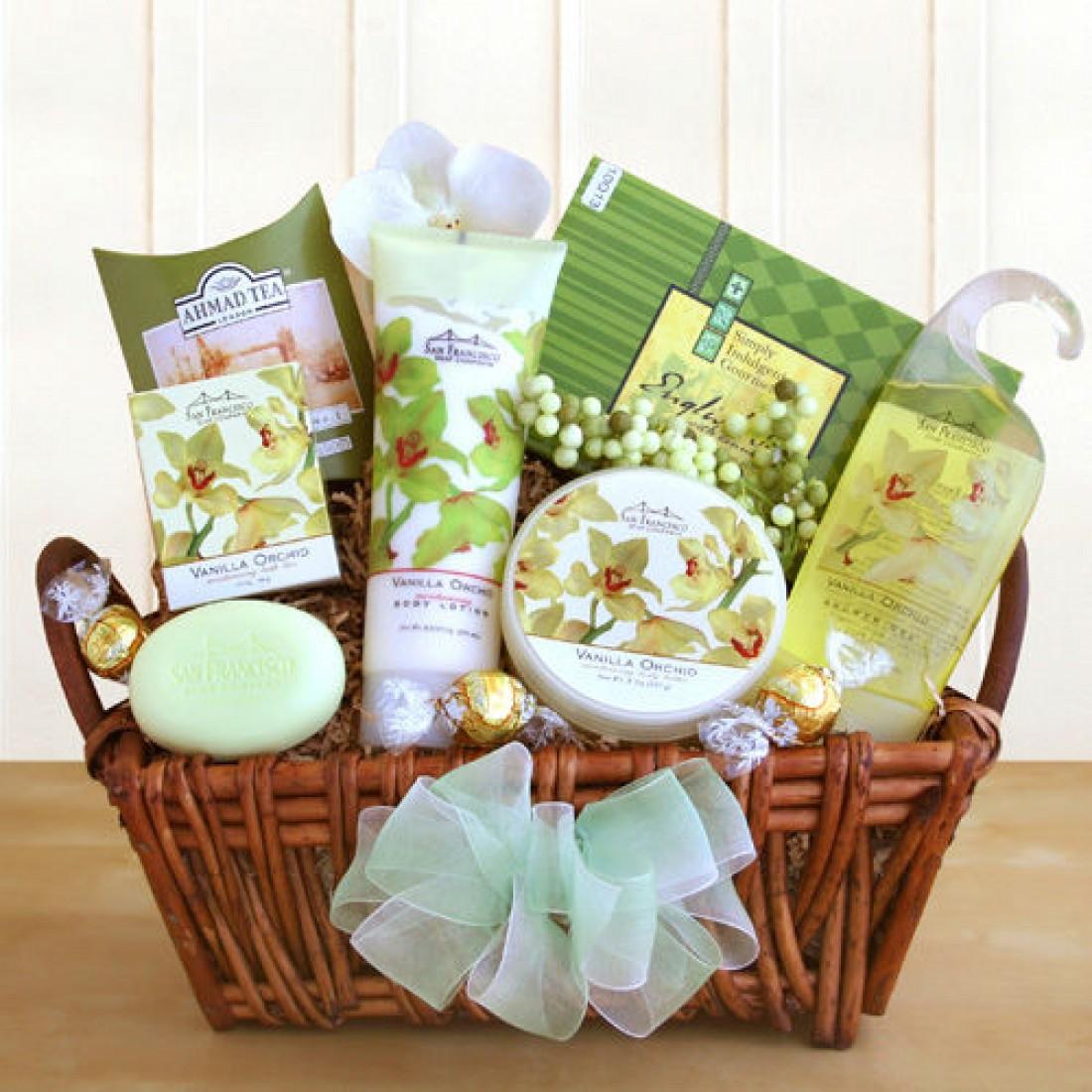 An Orchid Sensation Gift Box (7333     ) -   -