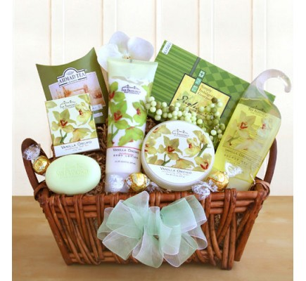 An Orchid Sensation Gift Box (7333     ) -   -