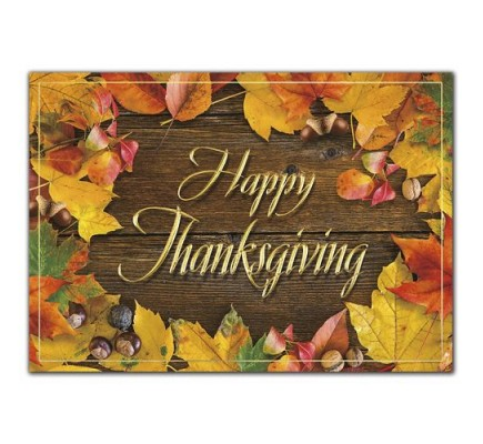 Autumn Shine Thanksgiving Cards