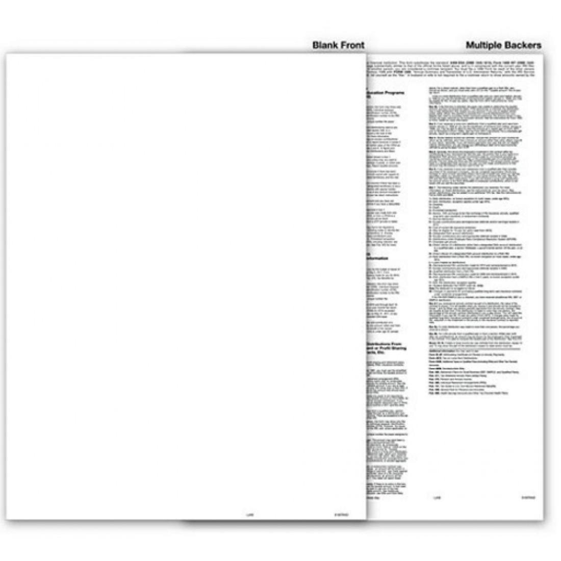 Blank 1099 Tax Form