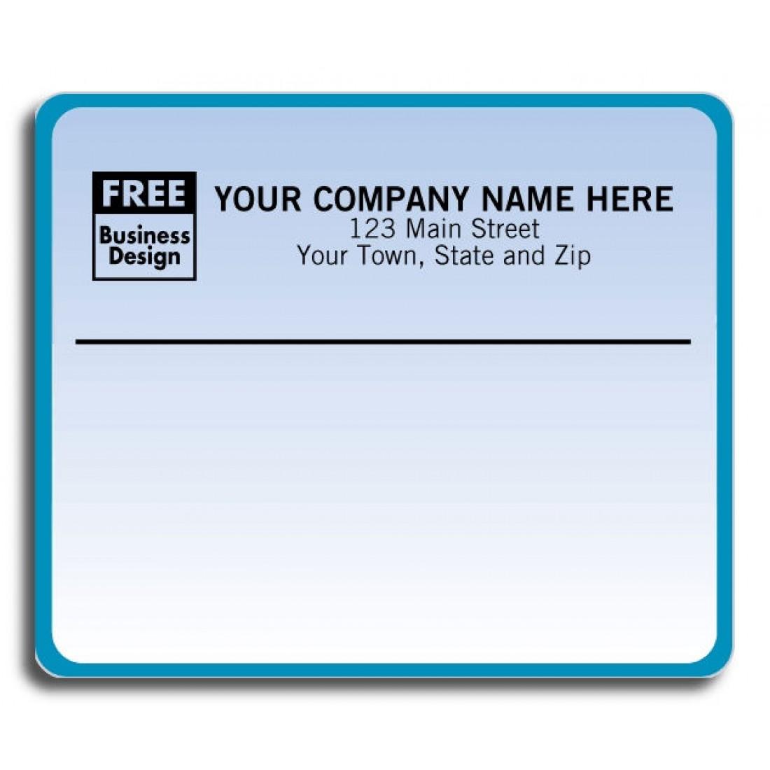 bluish laser mailing labels free shipping
