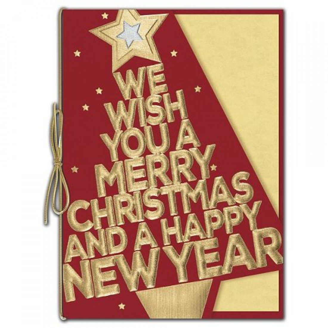 Bold in Gold Holiday Cards