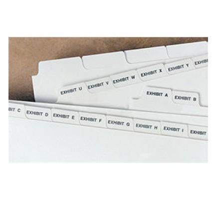 Bottom Tab Exhibit Divider (Item #D6303) - Business Checks Supplies  - Business Checks