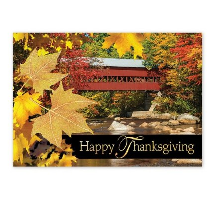 Bridge of Thanks Thanksgiving Cards
