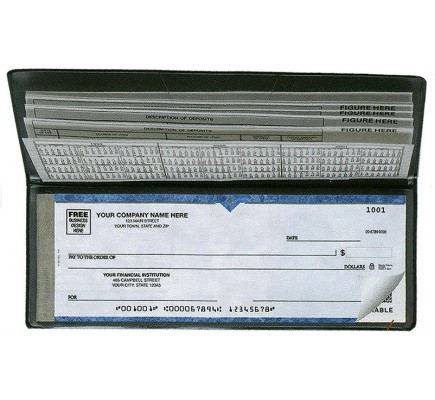 Business Size Portable Checks - Booked