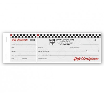 Cafe Gift Certificates, Booked Sets, Fruit Motif