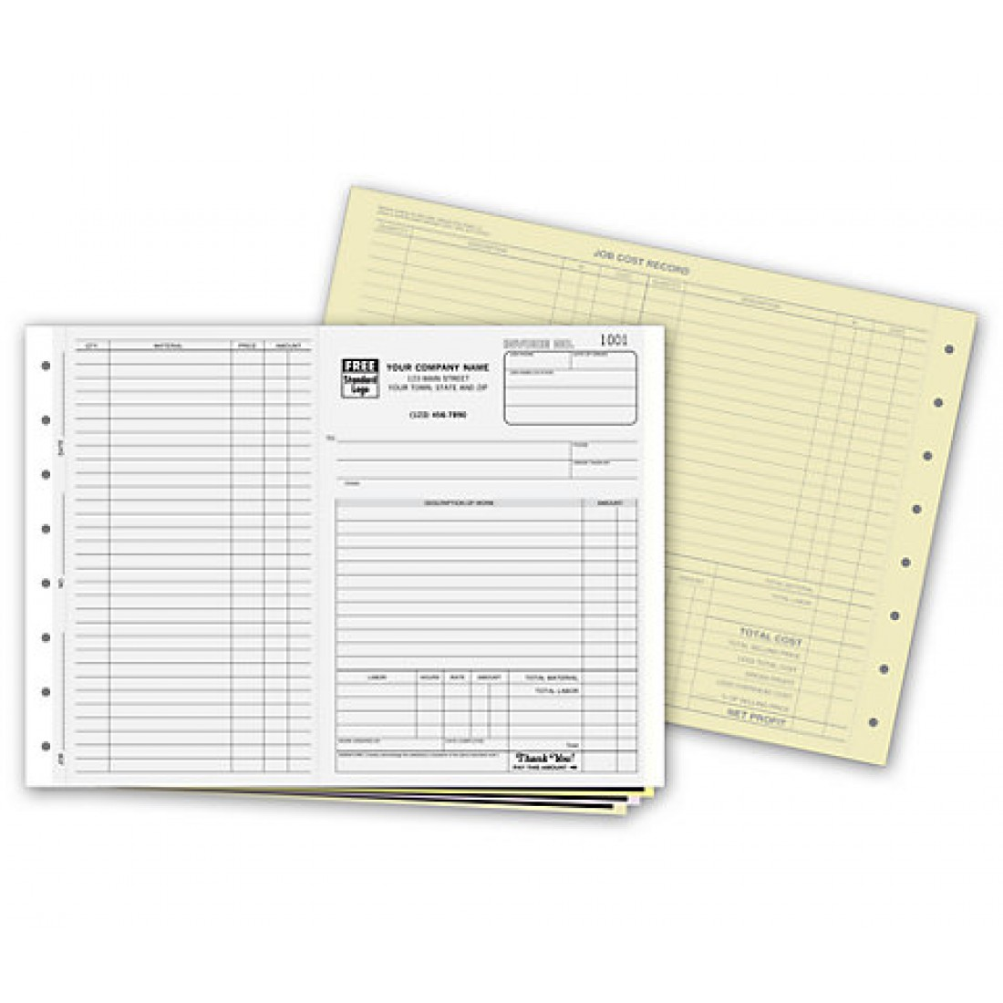 Carbon Copy Invoice Forms
