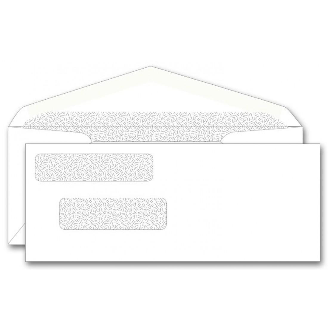 Center Write Long Check Envelope