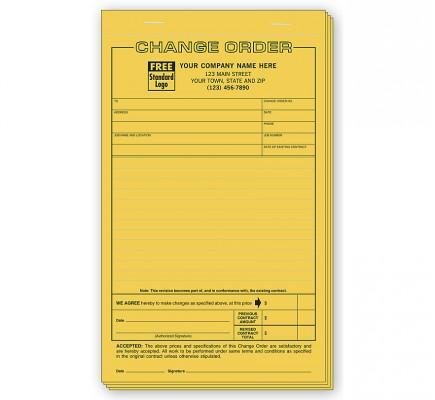 Change Orders - Classic Compact