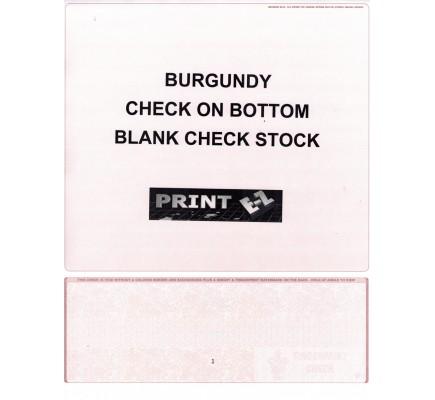 Check On Bottom Blank