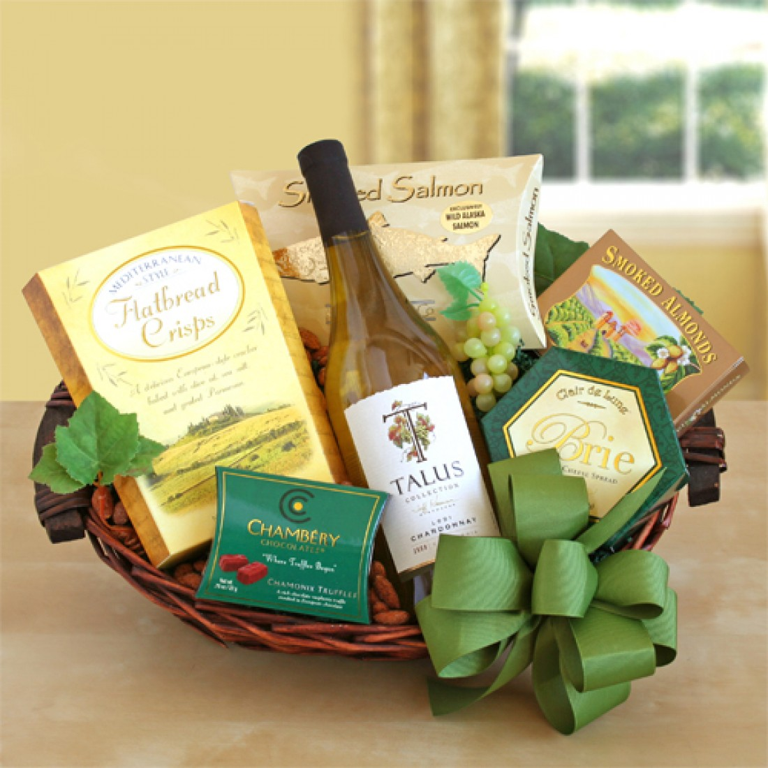 Cheers Thanksgiving Gift Basket