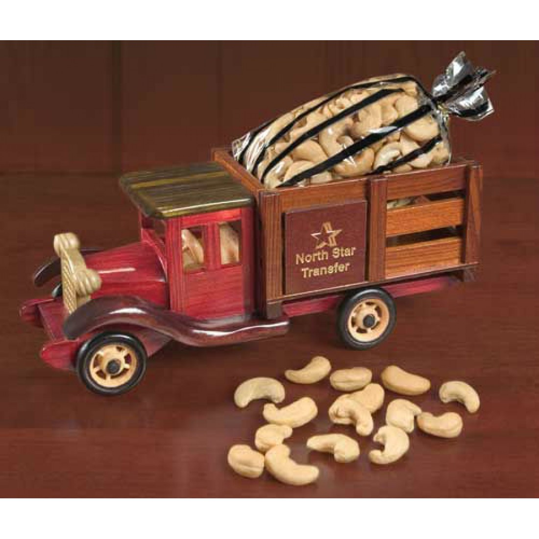 Classic 1925 stake truck with extra fancy jumbo cashews for Design your own food truck online