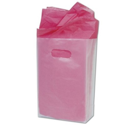 Clear Frostd Bags 7x3.5x10.5