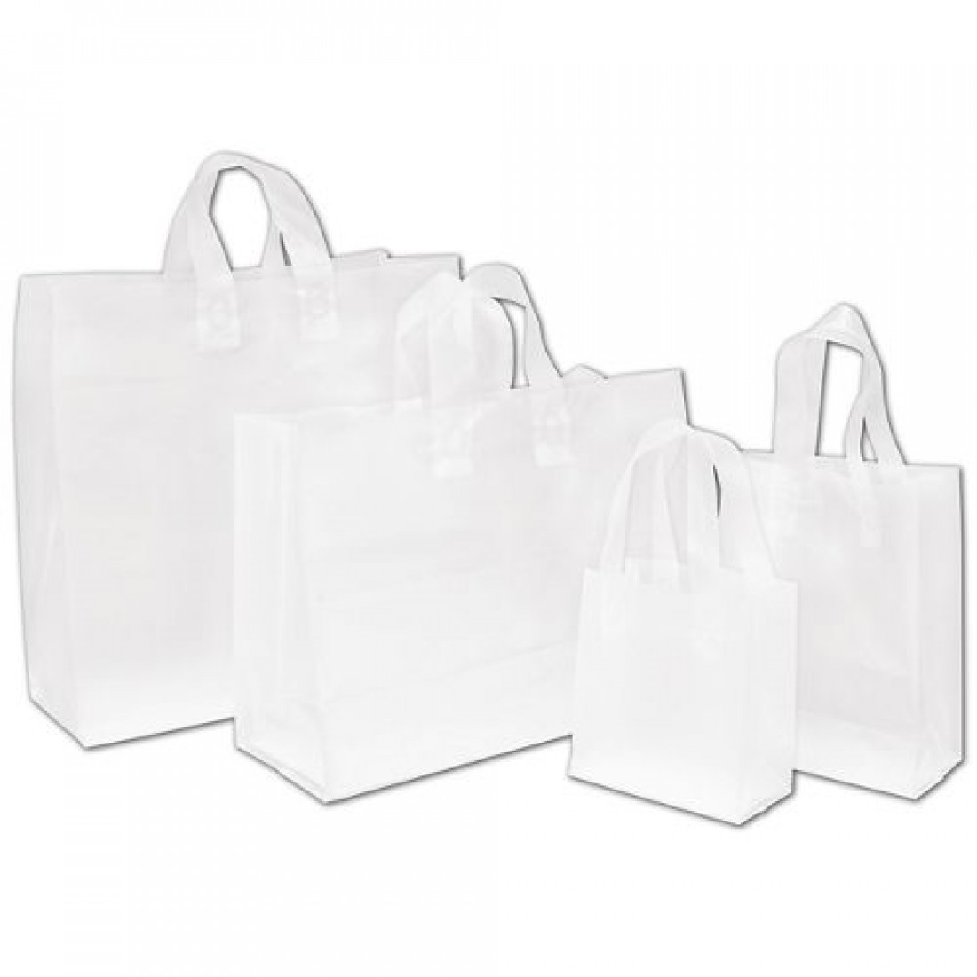 Clear Frstd HiDen Merch Bag
