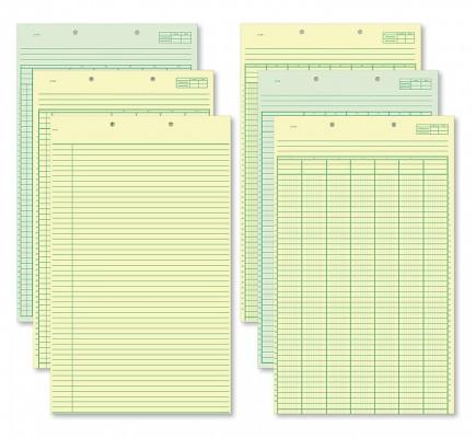 Columnar Work Sheets