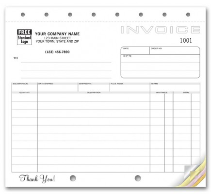 Compact Business Invoices