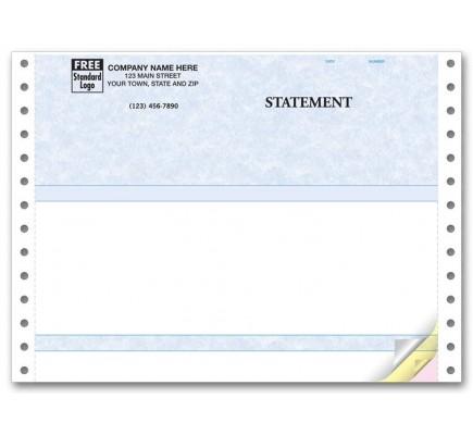Compact Continuous Multipurpose Form - Parchment