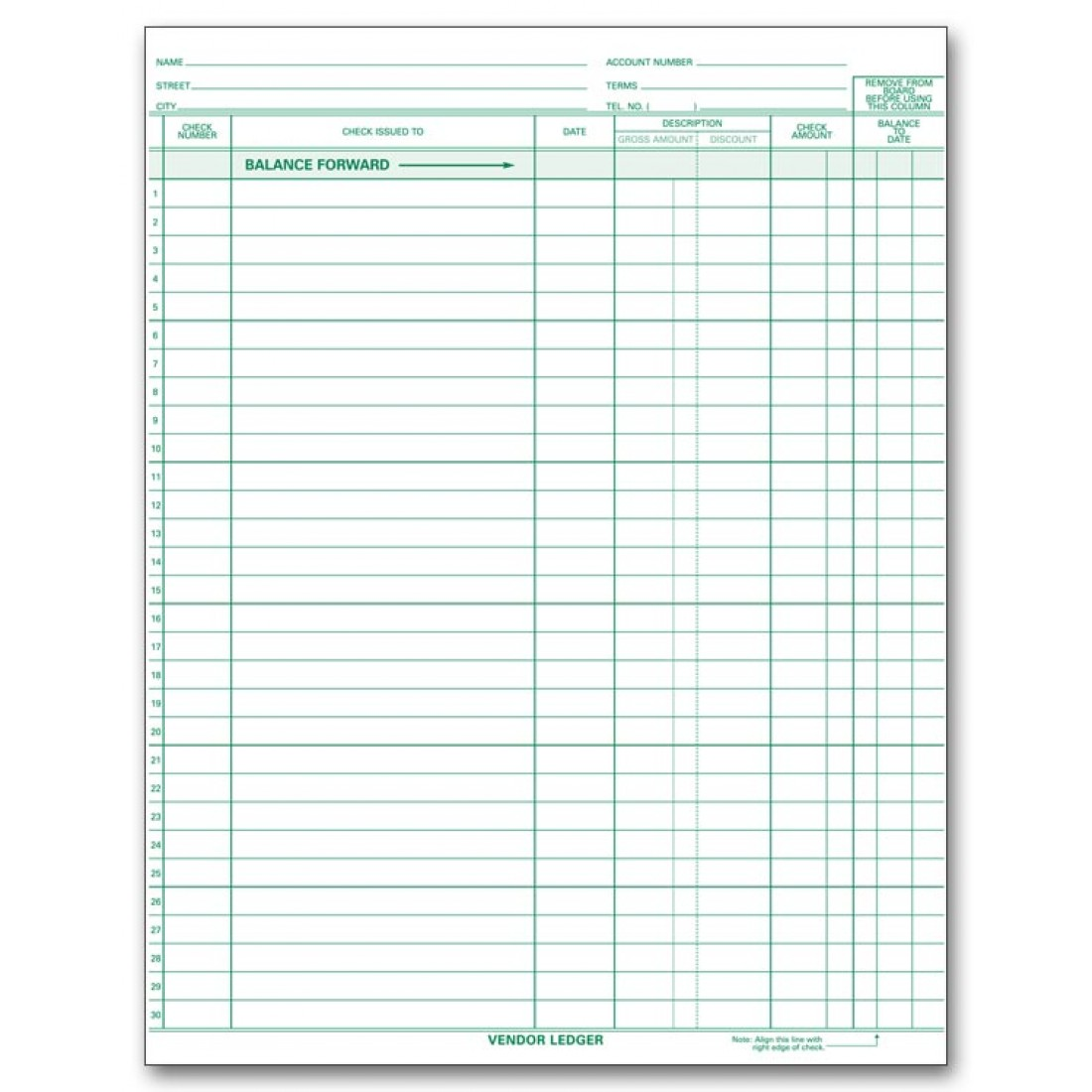Compact Expense Ledger