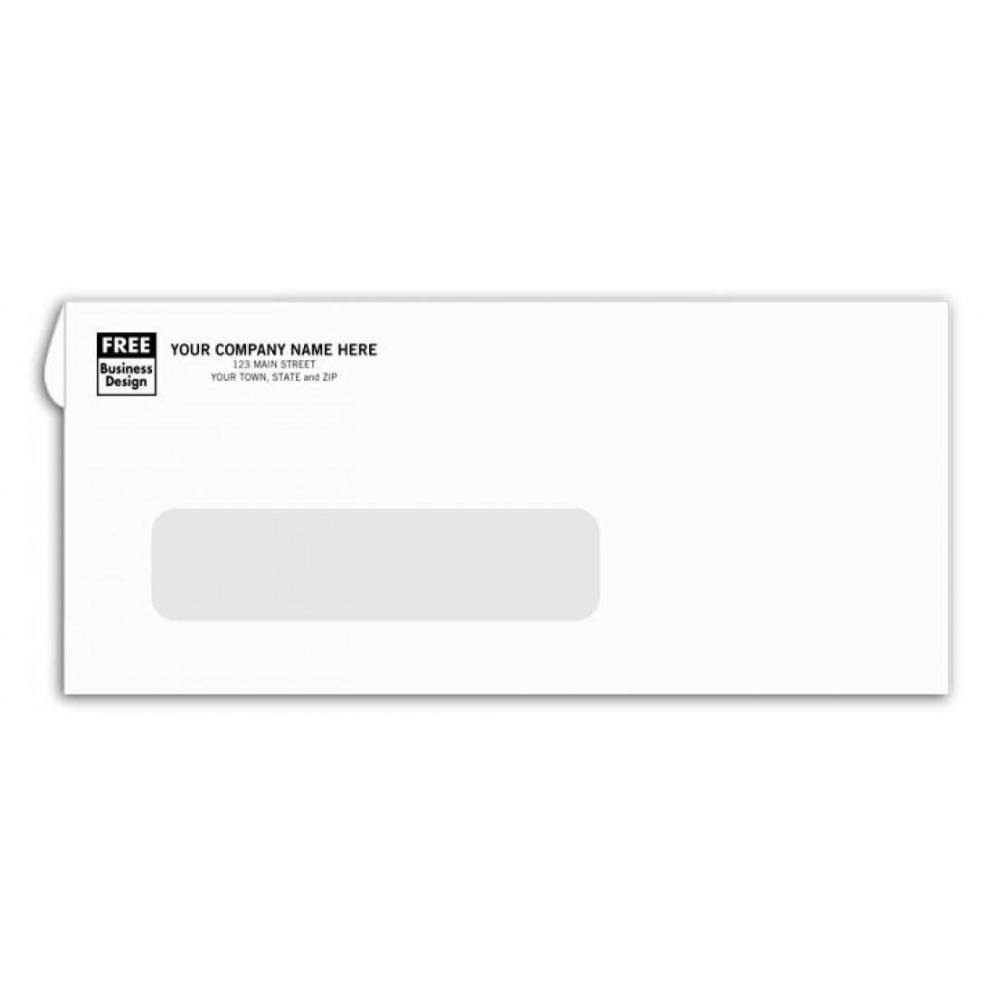 Confidential #9 Window Envelopes