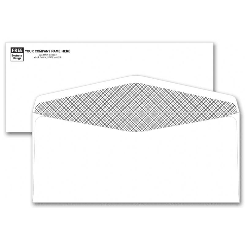 Confidential size 10 envelope free shipping for 10 window envelope size
