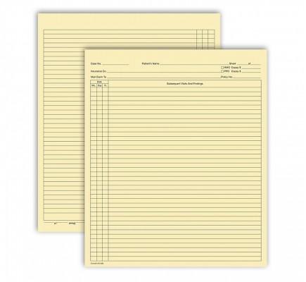 Continuation Exam Records Folder Style