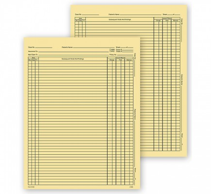 Continuation Exam Records Letter With Account Record