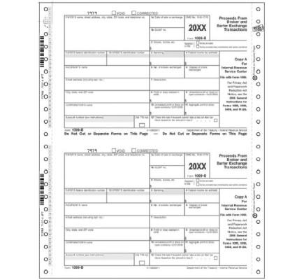 1099 b tax form: