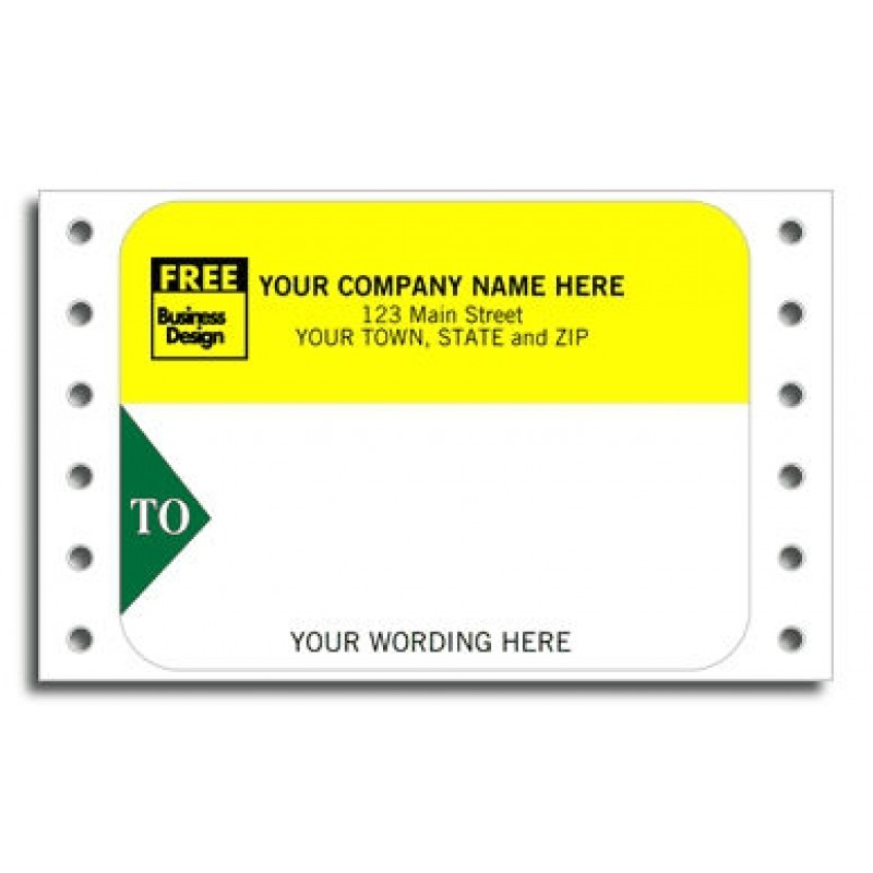 Continuous Mailing Label (1286) - Mailing Labels  - Labels
