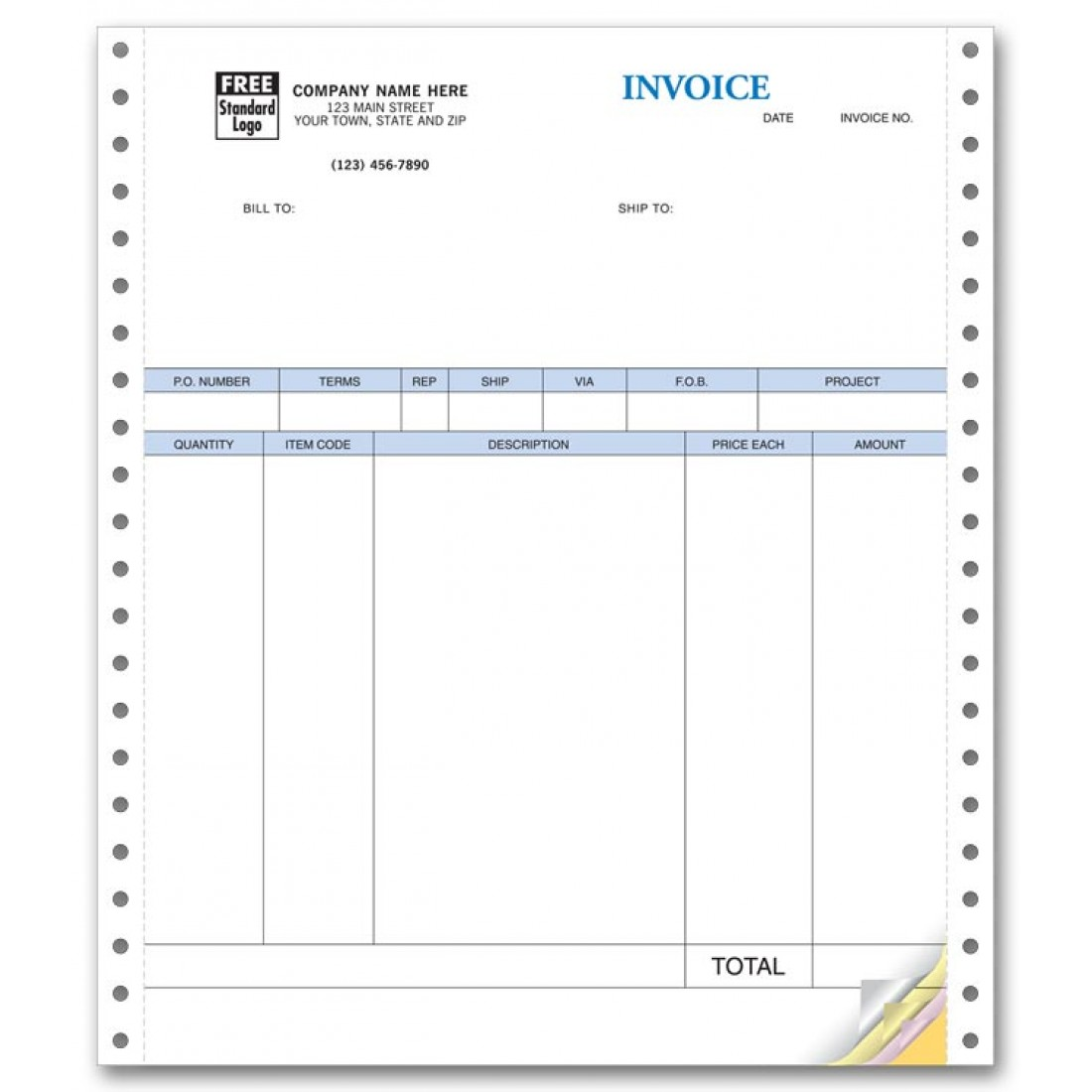 continuous product invoice for quickbooks no packing slip continuous product invoice for quickbooks no packing slip