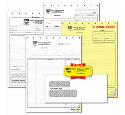 Contractor Business Forms Starter Kit