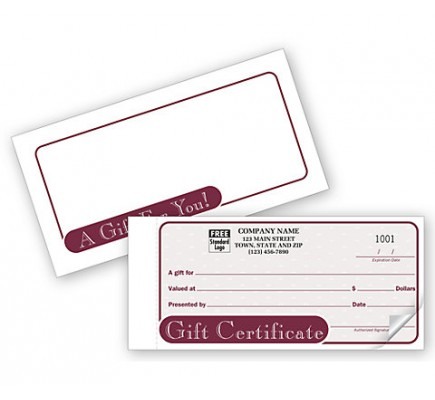 Country Gift Certificate Snapsets