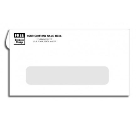 Creatively Styled Window Envelope Self Seal #6 3/4 Window Envelopes