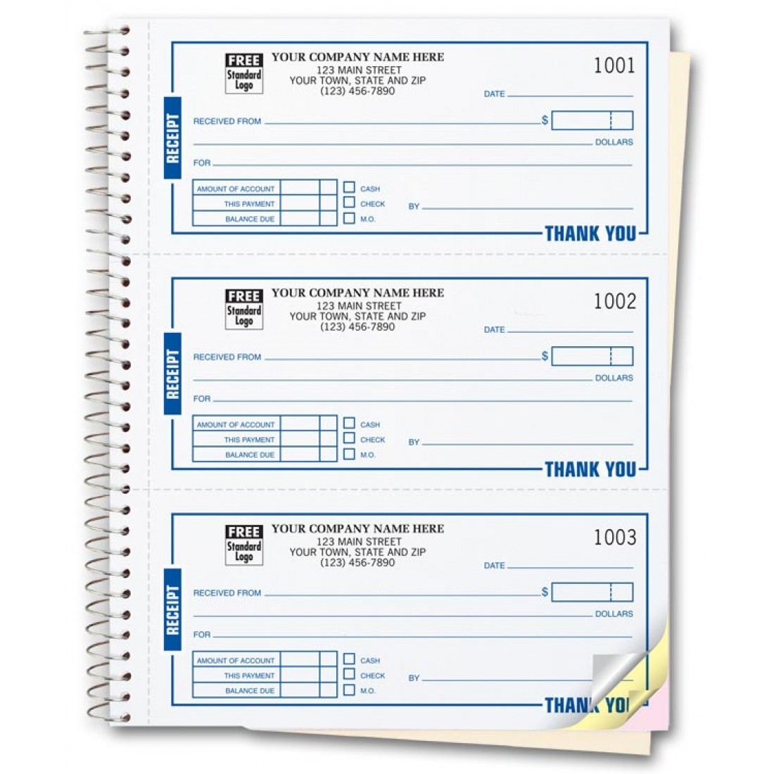 Custom Receipt Books Printing – Payment Receipt Book