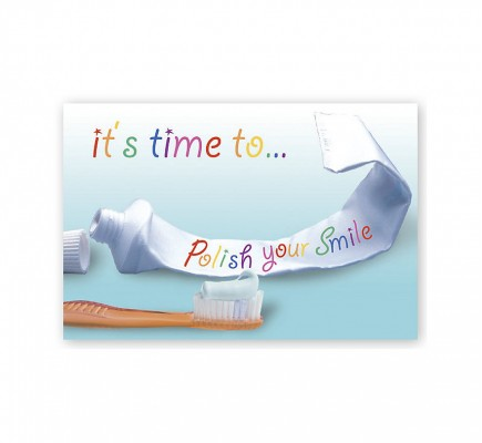 Dental Laser Postcards It's Time To Polish Your Smile