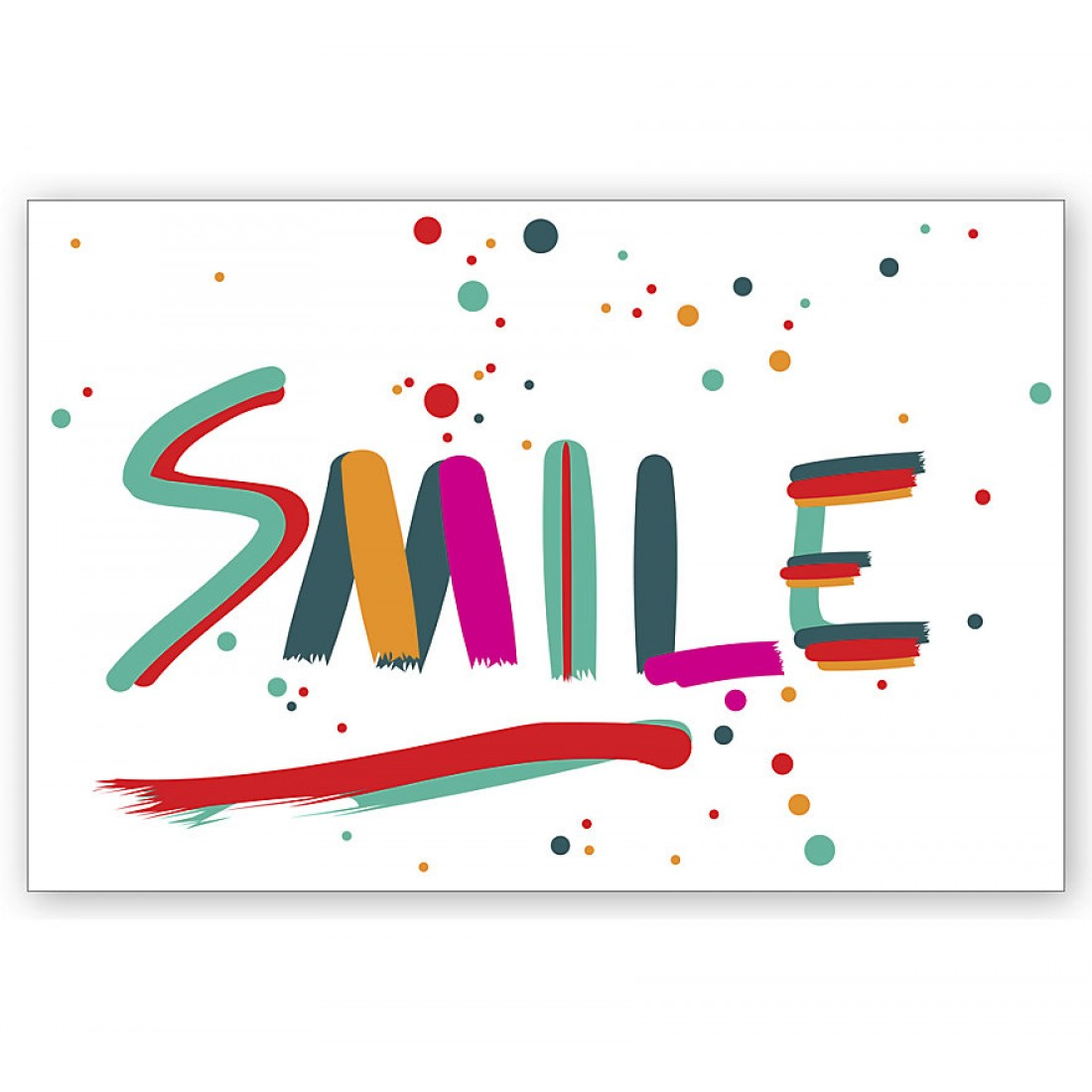 Dental Laser Postcards Smile