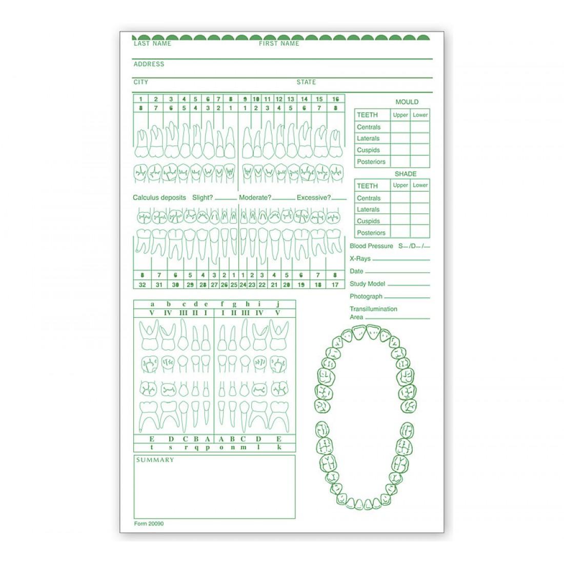 Dental Re-Examination Record