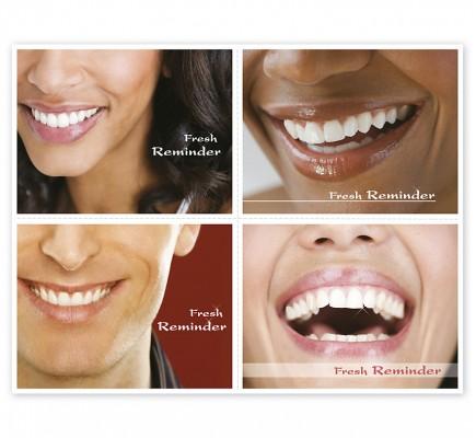 Dental Reminder Card Fresh Reminder Laser Postcard