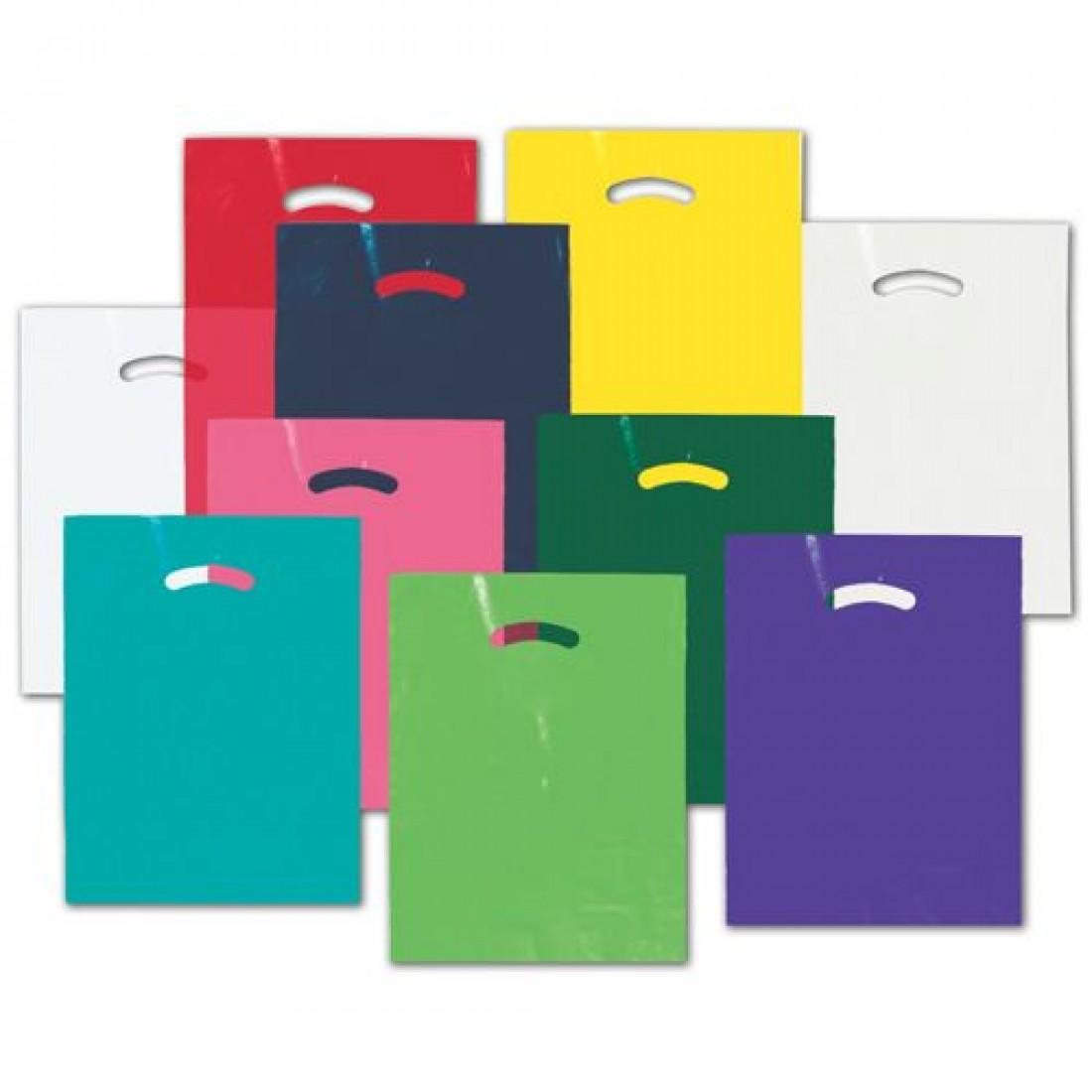 Die-Cut Plastic Bags 12x15